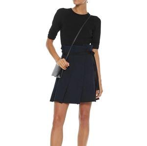 New Sandro Yacin pleated A line Mini skirt